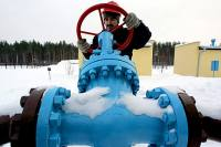 Struggling to heat freezing Europe. Although Europe's demand for gas has been increased because of the severe cold, Gazprom's leadership can't increase gas supply to Europe. Pictured: A Russian specialist checking valves at Gazprom's gas storage facility. Source: Reuters / Vostock-Photo