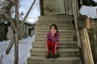 As South Ossetia votes, an election controversy. The temperature inside the crumbling homes is not any warmer than outside. Most people in South Ossetia suffer poverty. Source: Anna Nemtsova