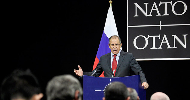 Foreign Minister Sergei Lavrov. Source: AP