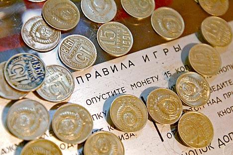 the Museum of Soviet Arcade Machines. Source: ITAR-TASS