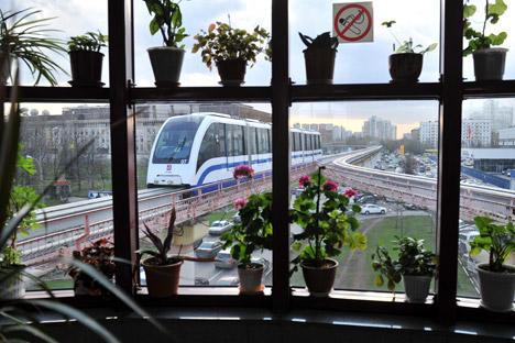 Moscow's Monorail. Source: RIA Novosti / Vladimir Pesnya