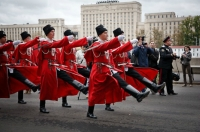 Cossacks are invading Moscow during the celebration of their history and culture. Source: Ruslan Sukhushin