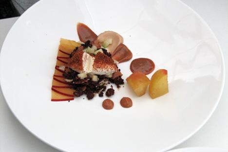 Wafer-thin apple tart. Source: Maria Afonina