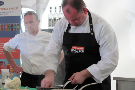 Bart de Pooter, Belgium's top chef  according to the 2012 Gault Millau rankings. Source: Maria Afonina