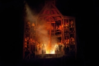 "The final scene of Mussorgsky's ""Khovananshchina."" Source: Ken Howard / Metropolitan Opera / Press Photo"