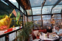 The diner in Moscow has become an iconic place for Americans. Source: RIA Novosti / Sergei Pyatakov