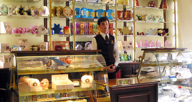 The Confael company, the Russian specialty chocolatier. Source: PhotoXPress