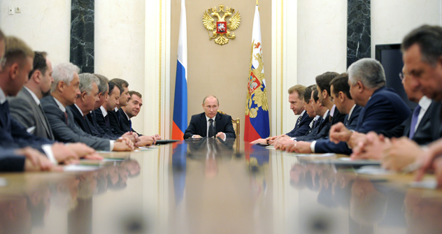 Russia has the new Cabinet announced. Source: ITAR-TASS