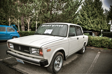 The car known abroad as a Lada is known in Russia as a Zhiguli. Source: Brian Shrader / flickr.com