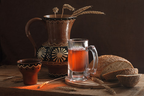 Kvass, Russia's real national drink. Source:  Lori / Legion Media