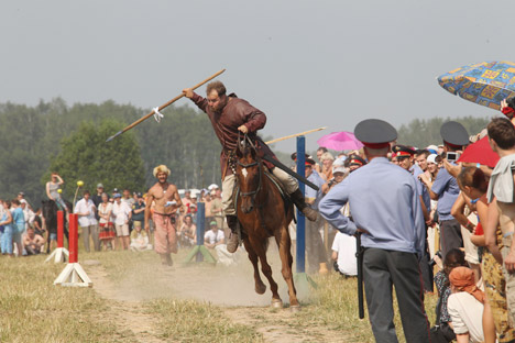 Russia is going to host a number of summer festivals. Pictured: Gorodetskoye Gulbishche, a one-day reconstruction of the Slavic Middle Ages, is expected to be held in Sergiev Posad District in August. Source: PhotoXPress