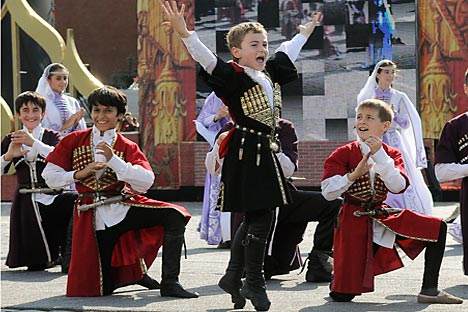 Despite an overwhelming Slavic majority, Russia is diverse ethnically and culturally. Source: ITAR-TASS