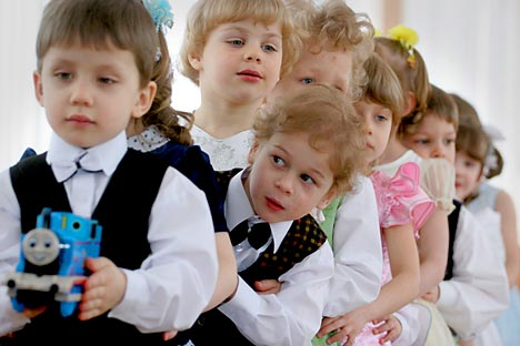 The government has significantly increased funding for orphanages. The expenditure per child ranges from 350,000 – 600,000 rubles ($11,000 - $18,000) - depending on the region. Source: ITAR-TASS