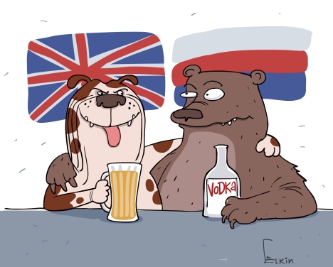 Drawing by Sergei Yolkin.