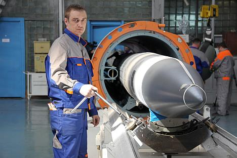 Today the plant is spending 100—120 million rubles ($3 million-$3.6 million) a year on modernization. Source: Víktor Litovkin
