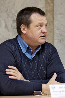 Viktor Lisitsyn, the head coach of the Russian women's boxing team. Source: Kommersant