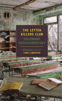 """A cover of """"The Letter Killers' Club"""". Courtesy of NYRB Classics."""
