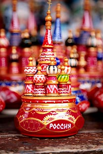 Models of St. Basil's Cathedral. Source: ITAR-TASS