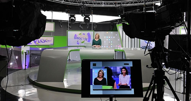 Tuning out: Moscow 24 is just one of 89 state-owned local TV stations. Source: RIA Novosty / Vladimir Pesnya