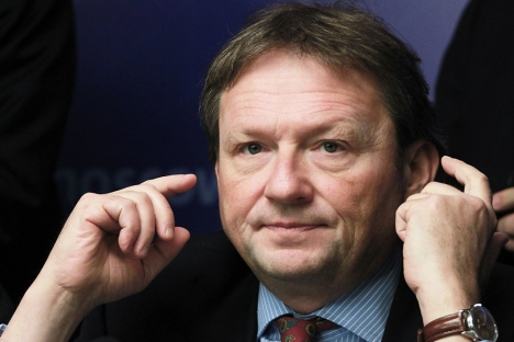 "Business Ombudsman Boris Titov: ""I will not lobby for a bribe."" Source: RIA Novosti / Alexander Natruskin"