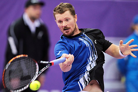 Alex Bogomolov, another member of Russia's Olympic team, who was born in the U.S. Source: RIA Novosti / Alexei Danishev