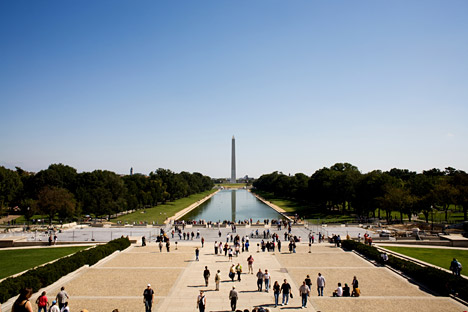 I found myself face-to-face with the Washington Monument. Source: Getty Images.