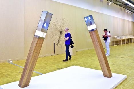 Moscow's Third International Biennale of Contemporary Youth Art at the Central House of Artists runs until August 7th. Source: Alexander Ganyushin