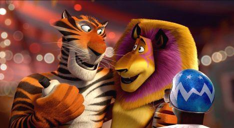 Vitaly the Tiger (Bryan Cranston), Madagascar 3 (2012). Source: Legion Media