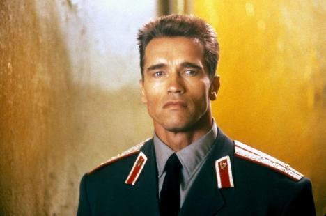 Ivan Danko (Arnold Schwarzenegger), Red Heat, 1988.