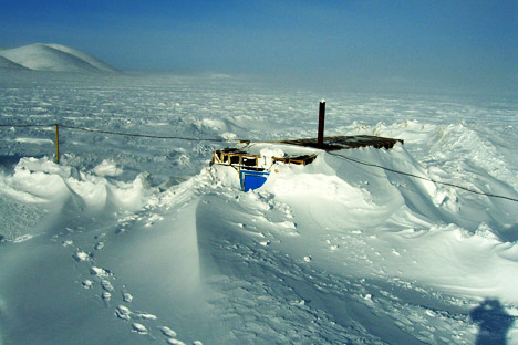 Russian lake Elgygytgyn, located 100 kilometers, or 62 miles, north of the Arctic Circle helped scientists to find out a probable explanation of climate change. Source: Department of Geosciences University of Massachusetts