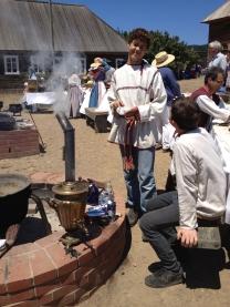 The Fort Ross Bicentennial celebration. Source: Press Photo
