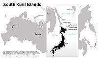 South Kuril Islands. Drawing by Anton Panin