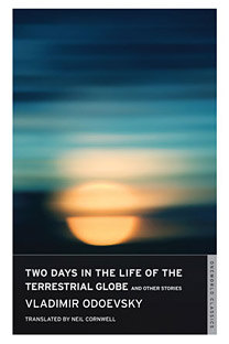 """The cover of """"Two days in the Life of the Terrestrial Globe and Other Stories."""""""