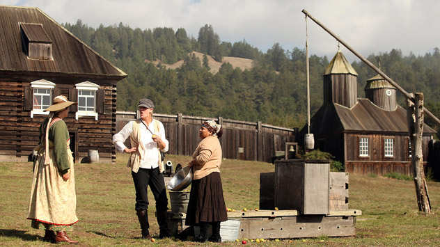 The former Russian colony, Fort Ross, located in California, became one of the American national parks attracting a lot of tourists. Source: Alamy / Legion Media