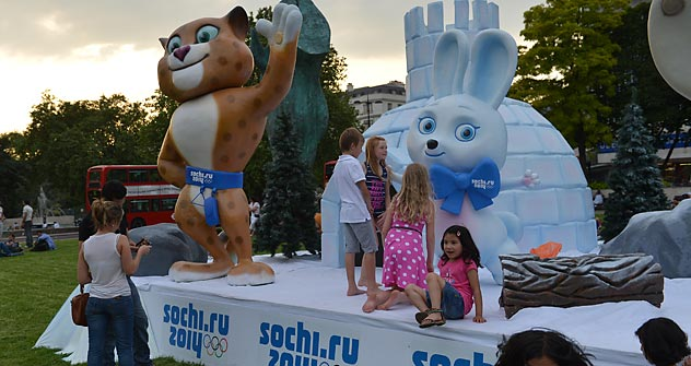 "The ""Russia.Sochi.Park"" in London will promote the 2014 Winter Olympics in Sochi and showcase Russia as a sporting, business and cultural venue. Source: RIA Novosti / Vladimir Pesnya"