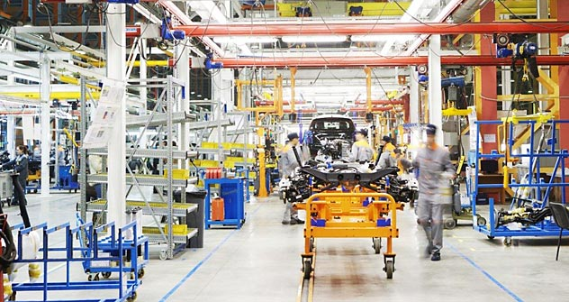 "The car production in Ford Sollers factory in special economic zone ""Alabuga."" Source: Ford Sollers"