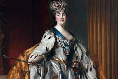 Coroação de Catarina, a Grande