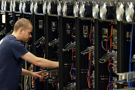 The supercomputer will be constructed at the laboratories of the Russian Academy of Sciences. Similar models are already operating in the US and Japan. Source: AP.