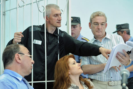 Mikhail Khodorkovsky's partner, Platon Lebedev, convicted with the former Yukos CEO, had his prison term reduced by three years and four months under the liberalization of the criminal legislation introduced by then-President Dmitry Medvedev in 2011.