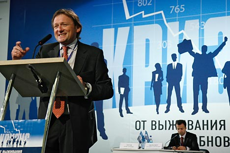 Russian business ombudsman Boris Titov: Commission for Entrepreneur's Rights will be a real system intended to protect entrepreneurs' rights. Source: Kommersant