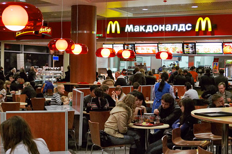 Expats encounter many familiar brands in Russia every day. Source: Kommersant.