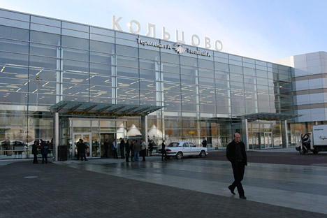 Koltsovo airport  in Yekaterinburg is the biggest among regional airports. Source: Kommersant.
