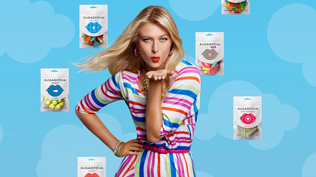 Maria Sharapova was interested in creating a new product that reflected her own style and personality. Source: Sugarpova.com.