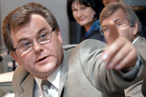 Rosstat Deputy Director Konstantin Laykam. Source: RIA Novosti