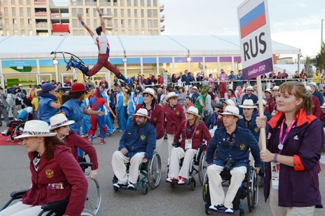 The 2012 Summer Paralympic Games began in London on Aug. 29. Source: RIA Novosti.