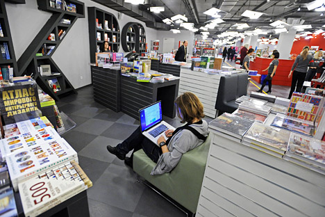 Russian bookshops are being transformed into salons where everyday readers can meet their literary giants. Source: ITAR-TASS.