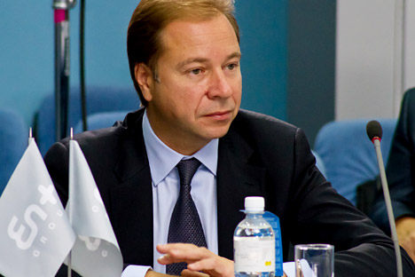 Artem Volynets, CEO of En+, one of Russia's largest energy holdings. Source: ITAR-TASS.