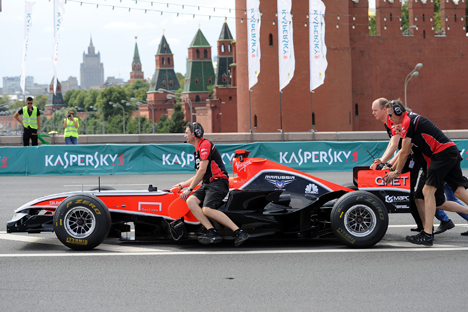 The Marussia F1 Team has repeatedly told the media that at this stage the main objective of the team is not so much to win as to tune up, while specific targets should be set in three or four years. Source: ITAR-TASS