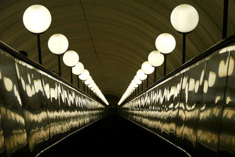 Escalators in the Moscow subway. Source: Mathew G. Crisci