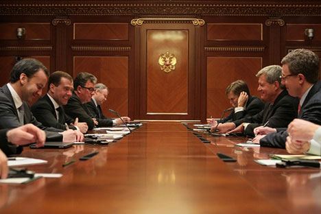U.S. Ambassador in Russia Mikhail McFaul with politicians from Russia and USA. Source: m-mcfaul.livejournal.com